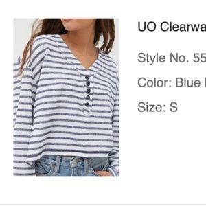 Urban Outfitters long sleeved top